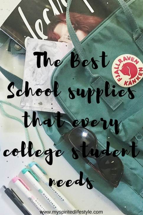 The best school supplies that every college student needs