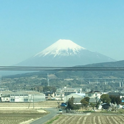 Mt.Fuji from the bullet train